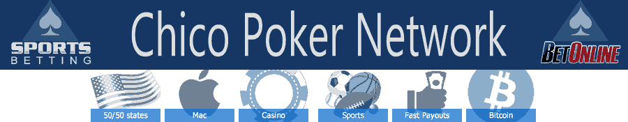 Betonline and Sportsbetting.ag, leading poker sites on the Chico Poker Network