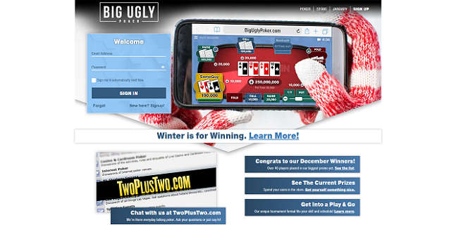 Home Page of Big Ugly Poker