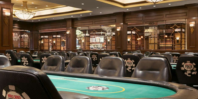 Poker Room at the Horseshoe Council Bluffs