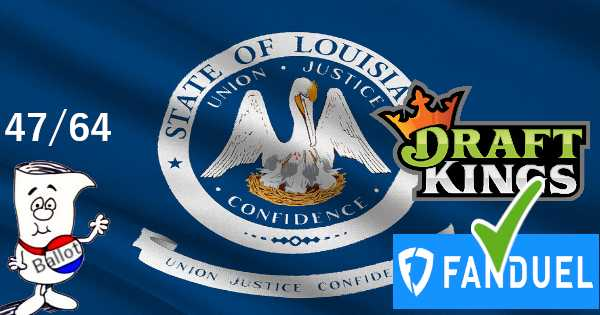 DFS Is Now Legal in Louisiana