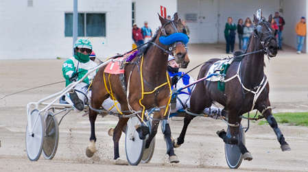 Harness Race at Northville Downs