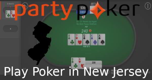It's Possible to Play at PartyPoker in New Jersey