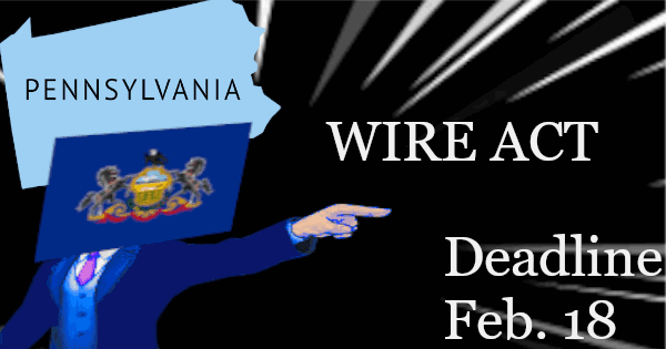 Pennsylvania Issued a Letter to Gaming Licensees About Wire Act