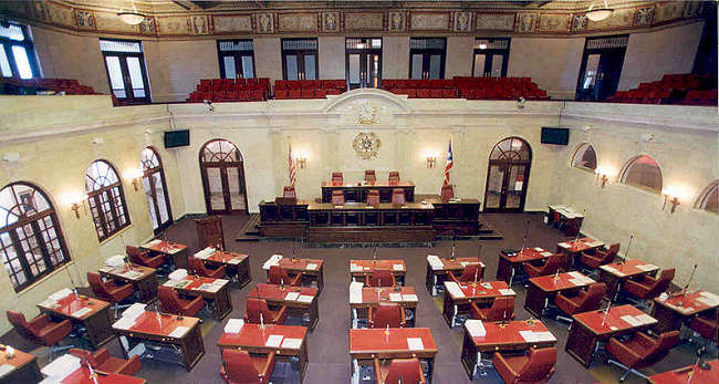 Legislative Chamber in Puerto Rico
