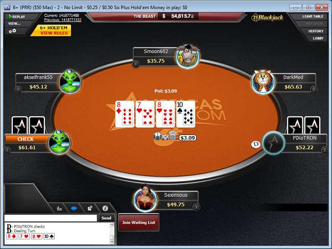 6 Plus Poker