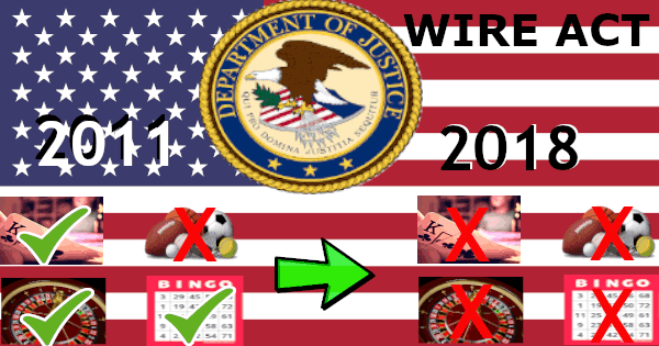 The Department of Justice Has Reinterpreted the Wire Act