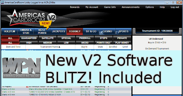 The Winning Poker Network Has Introduced V2 Poker Software