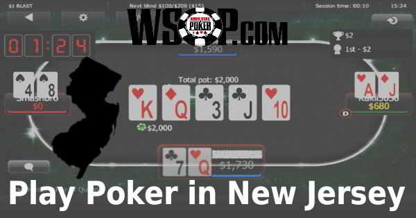 WSOP.com Is a Licensed NJ Online Poker Room