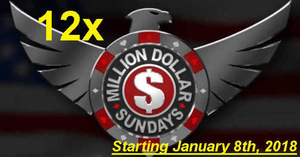 twelve one million dollar online poker tournaments