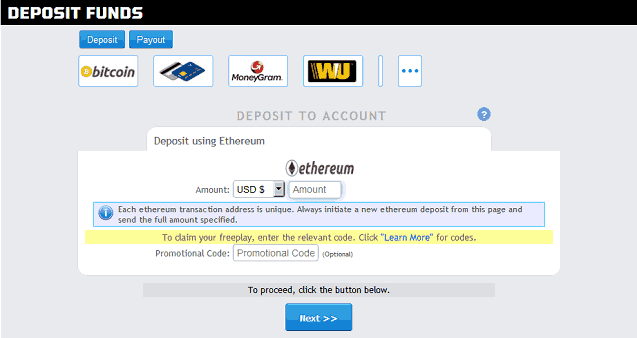 Deposit Bitcoin Betonline Ethereum Send Transaction To Contract
