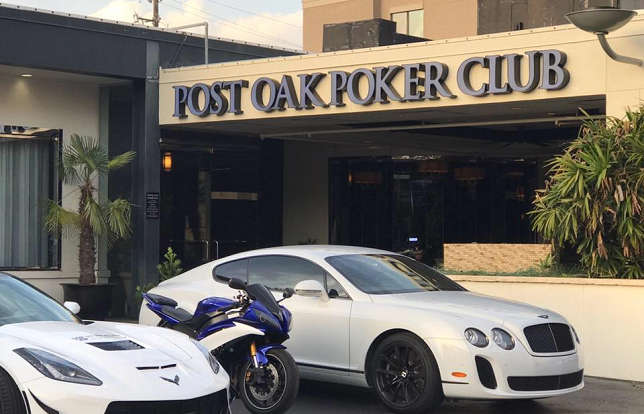 Post Oak Poker Club in Houston, Texas