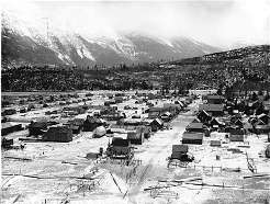 Photograph of Skagway in 1898