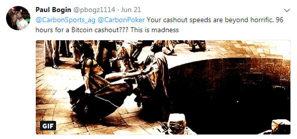 Twitter User Blasts Carbon Gaming for Slow Payouts