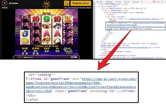 CasinoMGA Fake Slot Machine Game Server