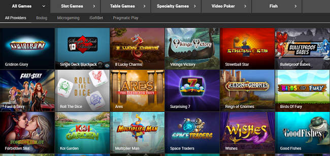 Bodog88 Casino Games