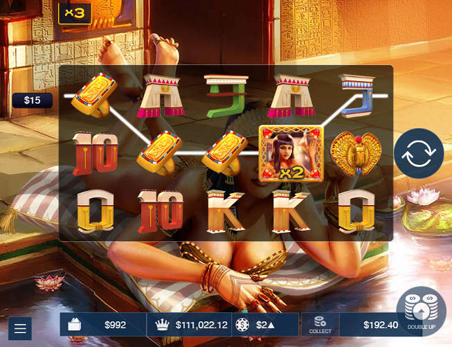 """A Night With Cleo"" Slot Machine"