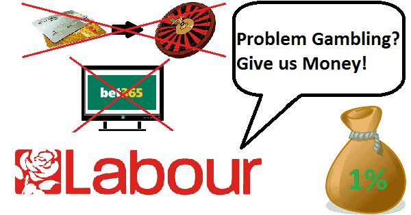 Labour Party Wants to Fight Problem Gambling
