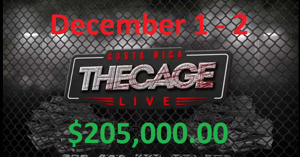 The Live Cage in December 2018 Was Held in PLO Format