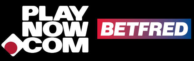 Logos of PlayNow and BetFred