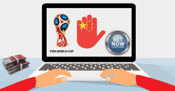 China busts an illegal World Cup betting conglomerate.