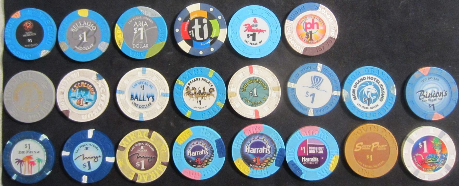 Casino Poker Chip Colors and Denominations | Professional