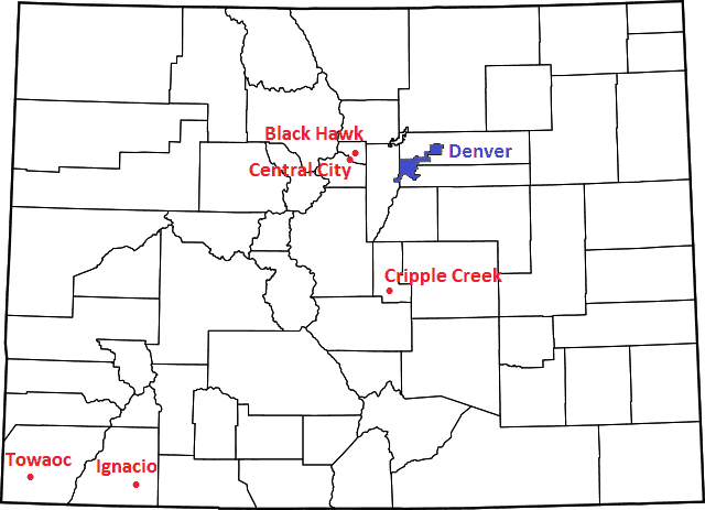 Colorado Casino Locations