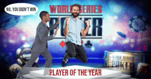 WSOP Mistake With Player of the Year