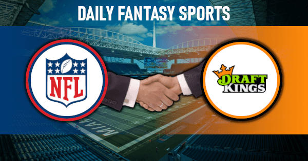 The NFL and DraftKings Have Signed a Partnership Agreement