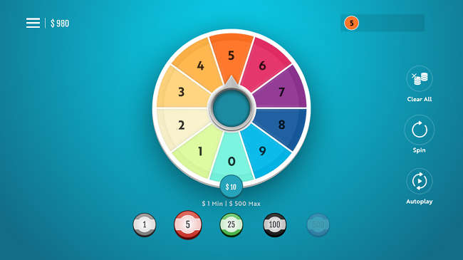 Spin the Wheel Mobile Screenshot