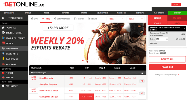 BoL Overwatch Betting