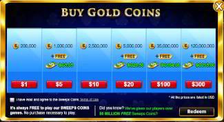 Gold Coins Packages