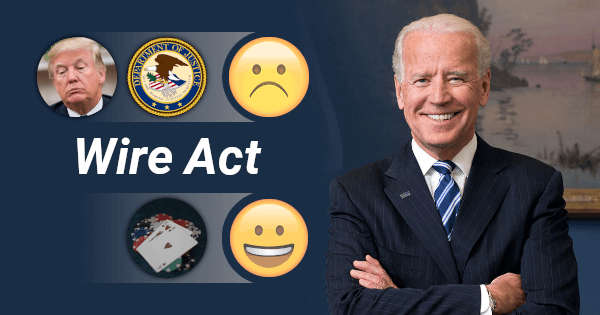 Joe Biden Explained His Views on the Wire Act