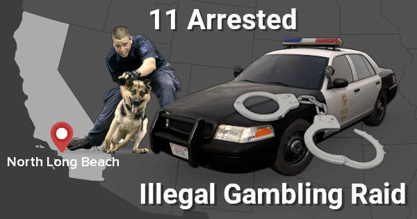 Long Beach Gambling Raid