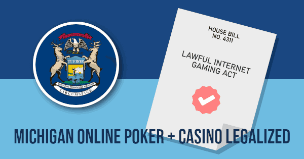 Michigan Legalized Online Gambling