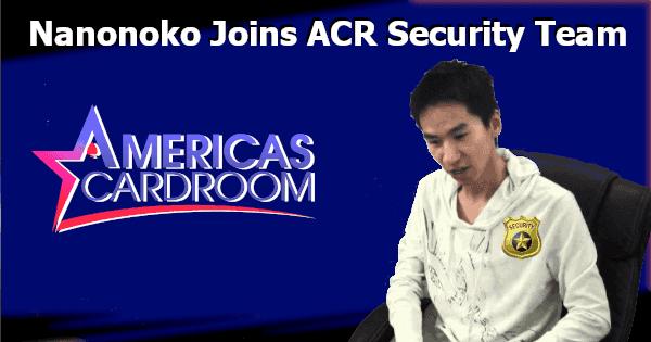 Nanonoko Joins Americas Cardroom