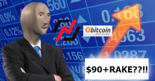 High $40K Bitcoin Price Leaves Nitrogen Poker FLUMMOXED | Professional RakeBack