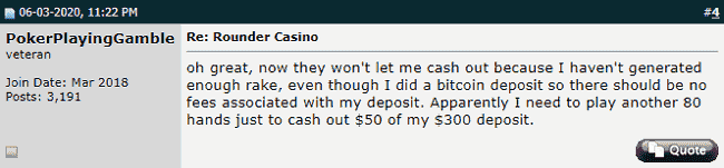 Twoplustwo Negative Post About Rounder Casino