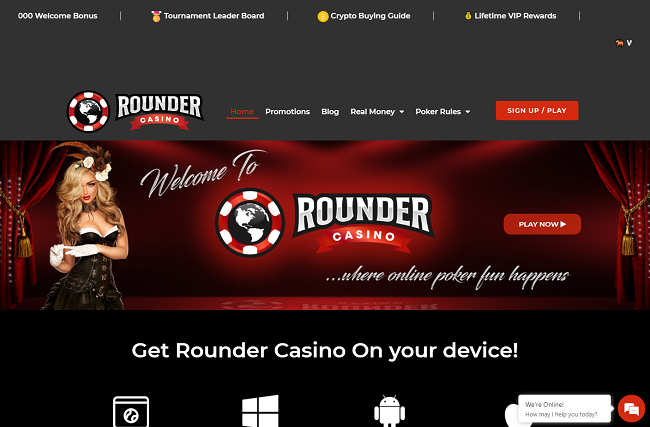 Rounder Casino Website