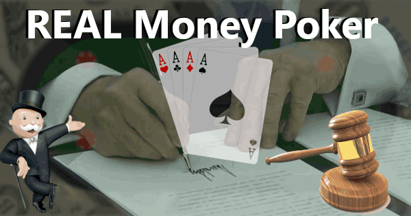 Real Money Poker header image