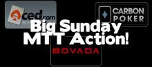 Big Sunday Bovada Carbon   Aced Poker MTT Action! [www.ProfRB.com]