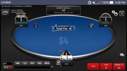 Jackpot Poker on Phone