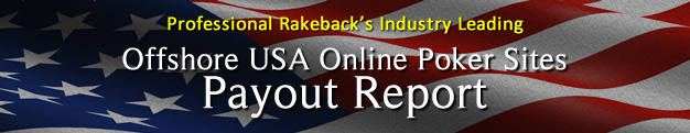 Offshore USA Online Poker Site Payout Report