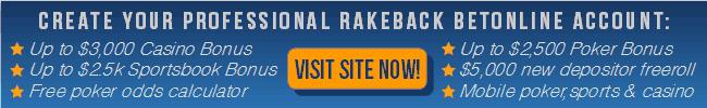 BetOnline cta for Profesional Rakeback