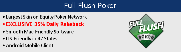 Full Flush Poker Rakeback Logo