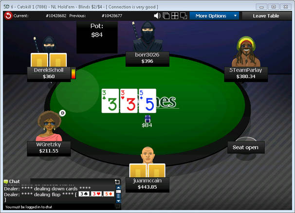 Grand Poker Network Table
