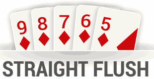 straight flushes are the best hands possible in Holdem