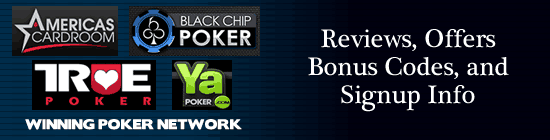 Winning Poker Network Information and Signup Page
